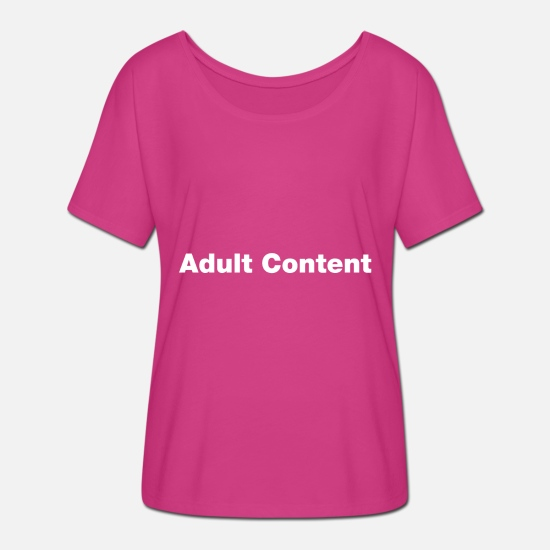 Humour T-Shirts - Adult content - Women's Batwing T-Shirt fuchsia red
