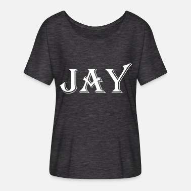 Jay Z JAY product - Women's Batwing-Sleeve T-Shirt by Bella + Canvas