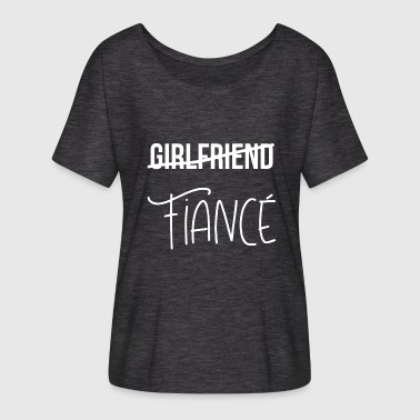 Girlfriends No Girlfriend - Women's Batwing-Sleeve T-Shirt by Bella + Canvas
