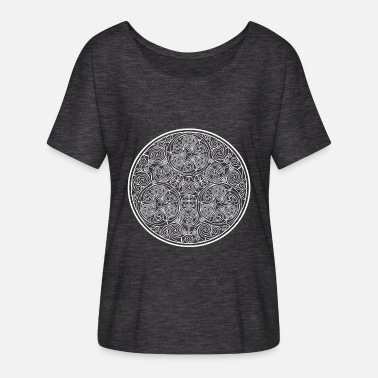 Universal Symbol universe - Women's Batwing-Sleeve T-Shirt by Bella + Canvas