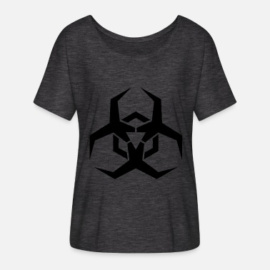 Virus virus - Women's Batwing-Sleeve T-Shirt by Bella + Canvas