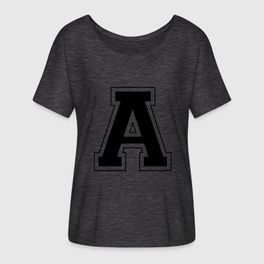 Letter H Letter A - Women's Batwing-Sleeve T-Shirt by Bella + Canvas