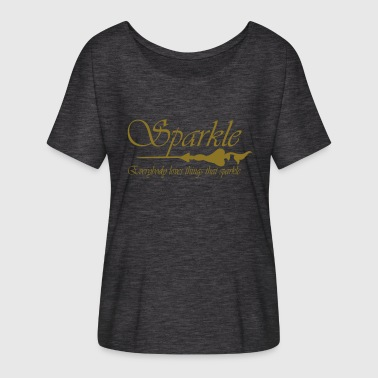 Sparkle - Women's Batwing-Sleeve T-Shirt by Bella + Canvas