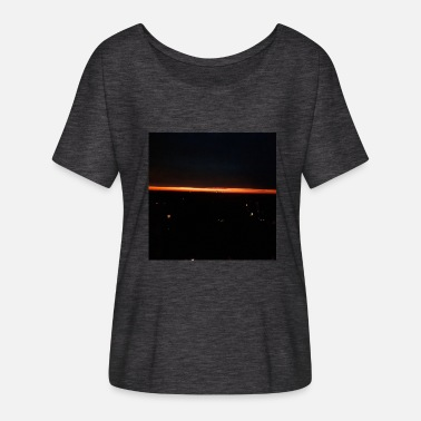 Night Sky night sky - Women's Batwing-Sleeve T-Shirt by Bella + Canvas