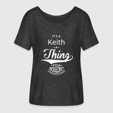 Keith Keith - Women's Batwing-Sleeve T-Shirt by Bella + Canvas