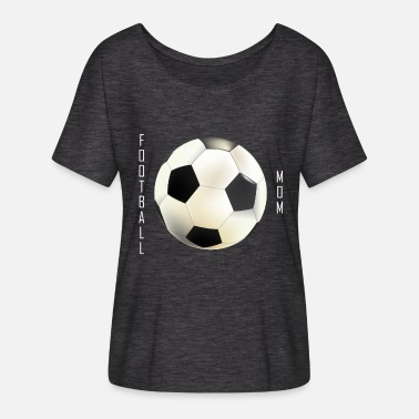 Mamma Sports Football Mamma Collection - Women's Batwing-Sleeve T-Shirt by Bella + Canvas