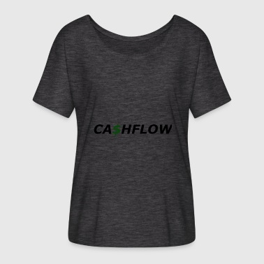 cash flow - Women's Batwing-Sleeve T-Shirt by Bella + Canvas