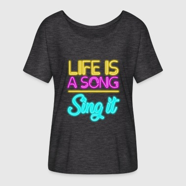 Love song - Women's Batwing-Sleeve T-Shirt by Bella + Canvas