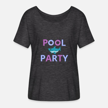 Pool Pool Party Pool Outdoor Pool - Women's Batwing T-Shirt