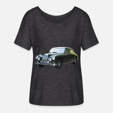 Riley Old car Rilay, English car Rilay, - T-shirt manches chauve-souris Femme Bella + Canvas