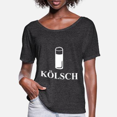Kölsch Kölsch beer alcohol drinking drink gift idea - Women's Batwing T-Shirt