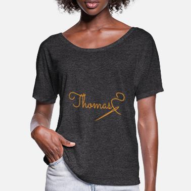 Thomas Thomas - Frauen Fledermaus T-Shirt
