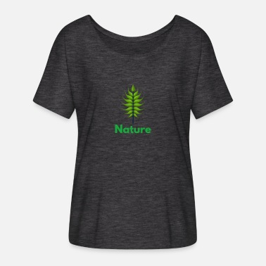 Nature Lovers Nature nature lover - Women's Batwing T-Shirt
