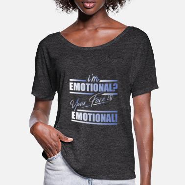 Emotion Emotion - Frauen Fledermaus T-Shirt