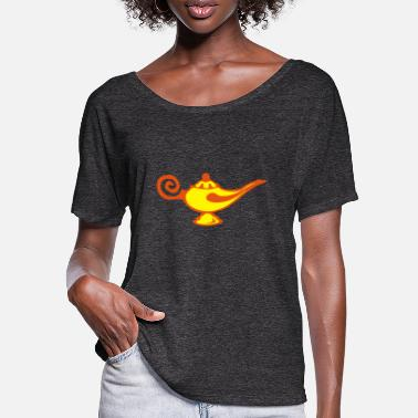 Master Lamp magical magic lamp alad - Women's Batwing T-Shirt