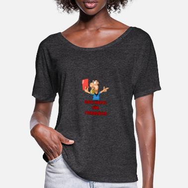 Red Card Red card - Women's Batwing T-Shirt