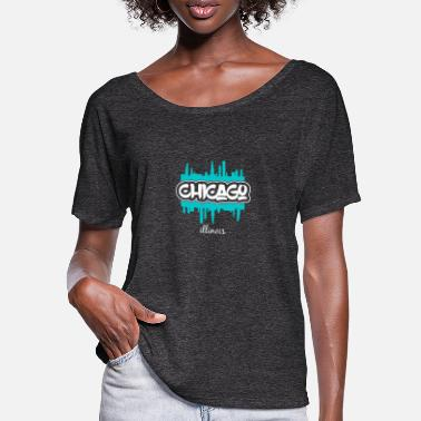 Chicago Chicago - Women's Batwing T-Shirt