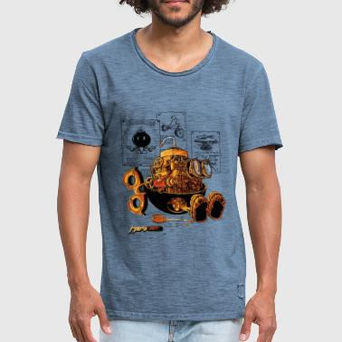 work of the genius - Camiseta vintage hombre