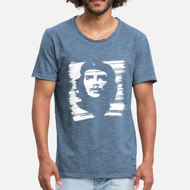 Ché Che Guevara Painted - Mannen Vintage T-shirt