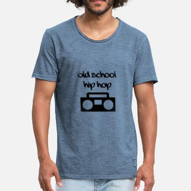 Old School Hip Hop Old School Hip Hop - Vintage T-shirt herr