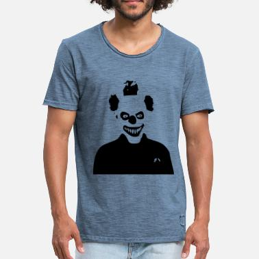 Clown Horror Horror Clown - Männer Vintage T-Shirt
