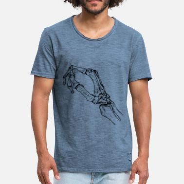 Velo hand skeleton - Men's Vintage T-Shirt