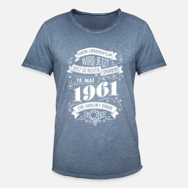 Date 15.5.1961 The birth of an icon - Men's Vintage T-Shirt