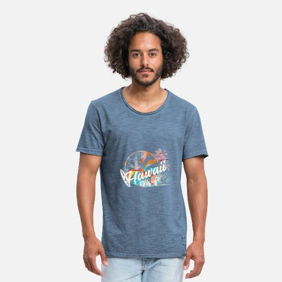 Hawaii T-Shirts - Hawaii - Men's Vintage T-Shirt vintage denim