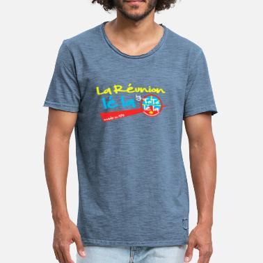 Collection La Réunion lé la by TOTO Lé La - T-shirt vintage Homme