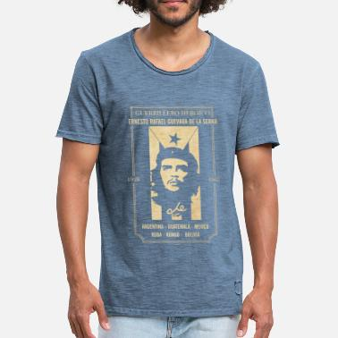 Che Guevara Data - Men's Vintage T-Shirt