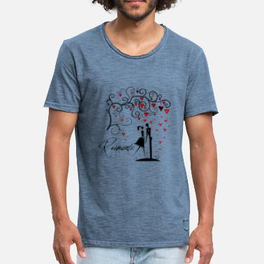 Love Romantic ROMANTIC - Men's Vintage T-Shirt