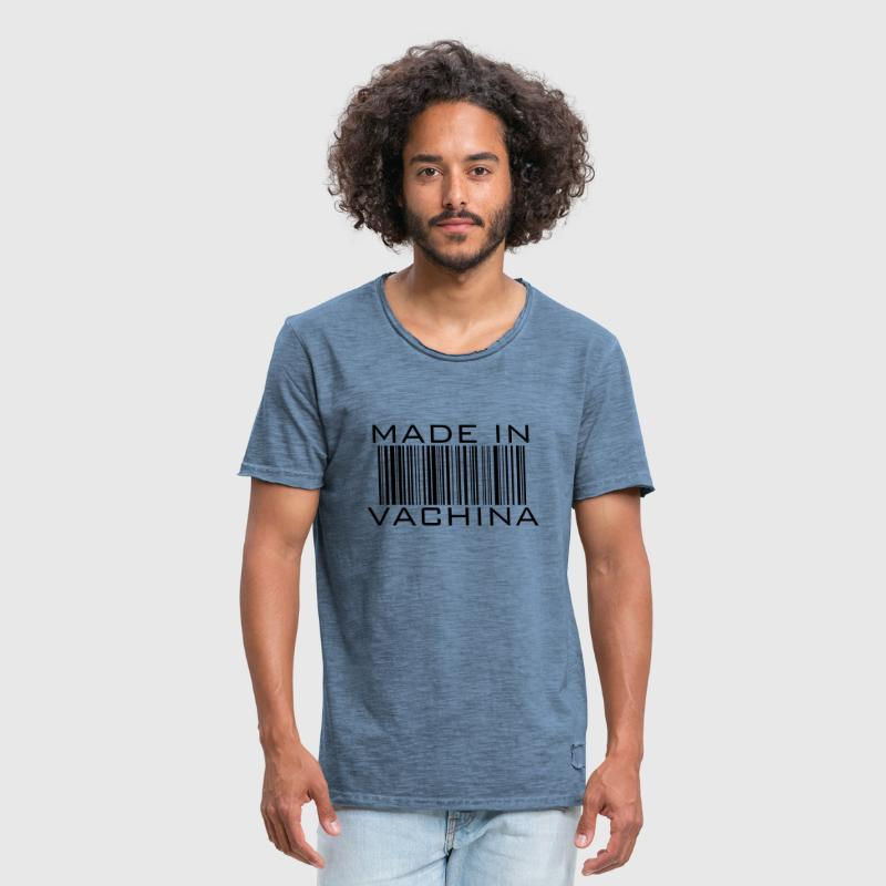 made in vachina / Cooler Spruch Sex barcode - Männer Vintage T-Shirt