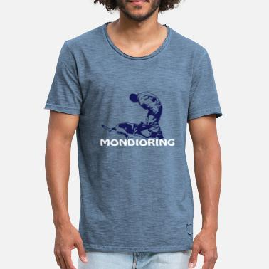 Scalable Mondioring, bicolor - Men's Vintage T-Shirt