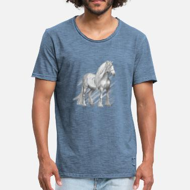 Cold Blood Cold-blood horse - Camiseta vintage hombre
