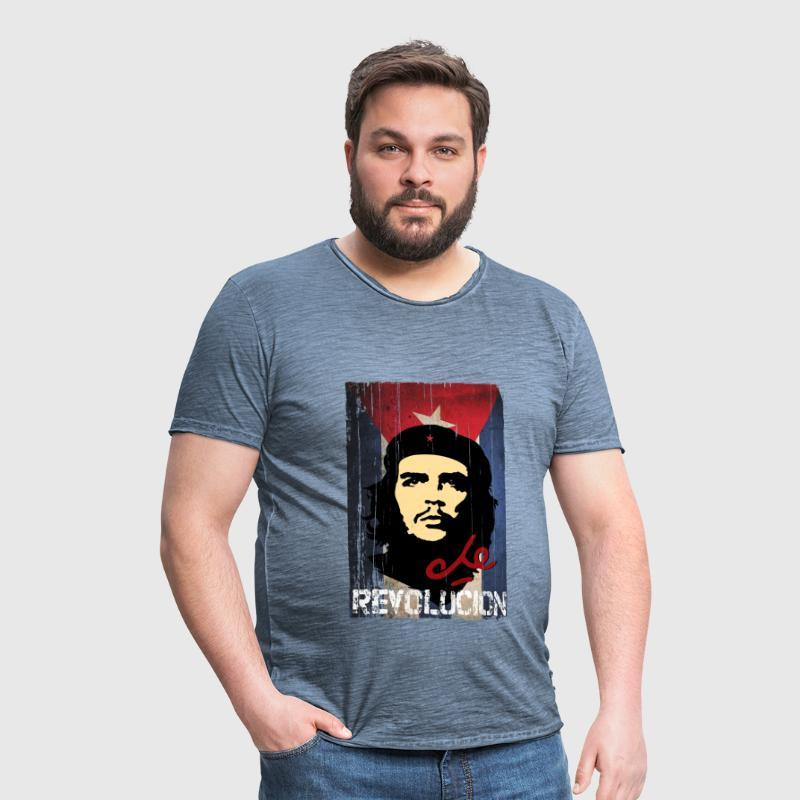 Che Guevara Cuba Flag Men Hoodie - Men's Vintage T-Shirt