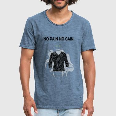 NO PAIN NO GAIN - Men's Vintage T-Shirt