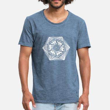 Hexagon Hexagon white - Men's Vintage T-Shirt