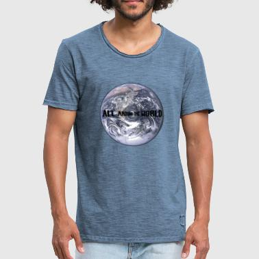 the earth - Men's Vintage T-Shirt
