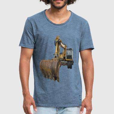 Construction Machine - Men's Vintage T-Shirt