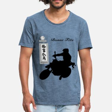Grégory Happy Gregory Party - Mannen Vintage T-shirt