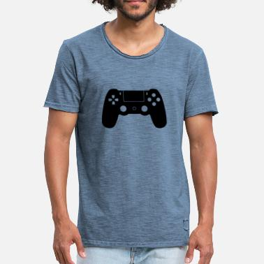 Ps PS 4 - Vintage-T-shirt herr