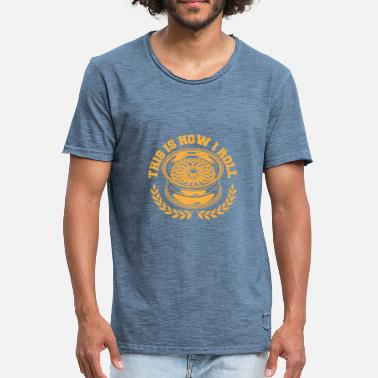 Rimming rim - Men's Vintage T-Shirt