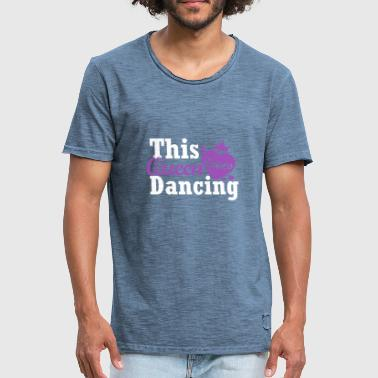 This queen loves dancing - Männer Vintage T-Shirt