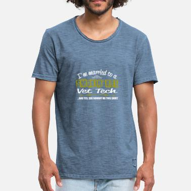 Smokin Smokin Hot Vet Tech - T-shirt vintage Homme
