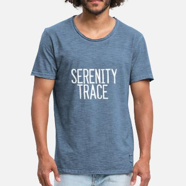 Trace Serenity Trace LOGO W - Herre vintage T-shirt
