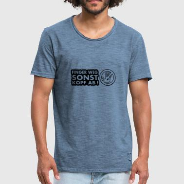 Hands Off hands off - Men's Vintage T-Shirt