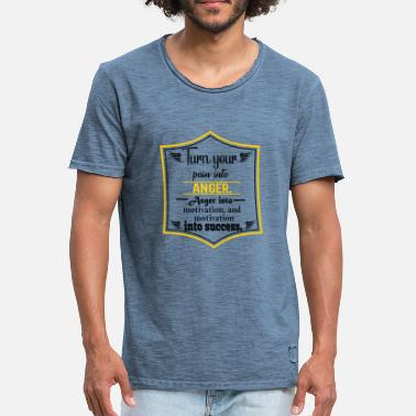 Citations De Motivation Citation de motivation - T-shirt vintage Homme