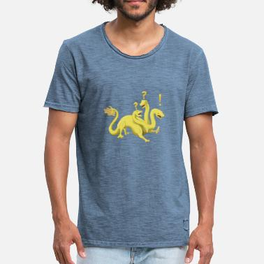 Hydra Quest Hydra - Men's Vintage T-Shirt