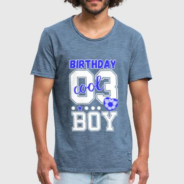 3rd birthday number 3 birthday boy - Men's Vintage T-Shirt