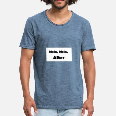 Moins Moin Moin - T-shirt vintage Homme